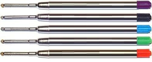 5 – Ballpoint Refills for Parker Jotter Ballpoint Pens and More – Assorted Ink Collectibles