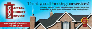 Chimney Sweep / WETT Inspection Edmonton Edmonton Area image 3