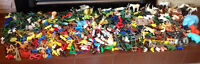 HUGE Lot Marx Bully Vintage Characters Animals Cowboys & More