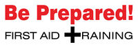 Be Prepared - First Aid Training