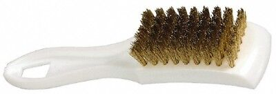 Pro-source Brass Bristle Scouring Brush 2-12 Inch Long X 1-58 Inch Wide Hea...