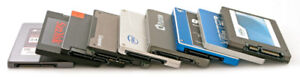 Lot of 245 Pieces 2.5 inch SSDs