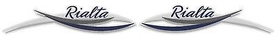 2 RV WINNEBAGO RIALTA GRAPHIC DECAL -835-5