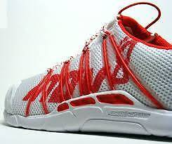 BRAND NEW-Bare-X Lite™ 150 Unisex Shoes - White/Red-FOR SALE Sydney City Inner Sydney Preview