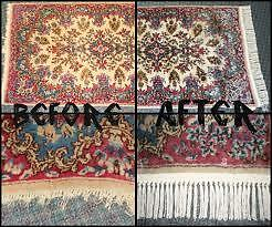 AREA RUGS THOROUGHLY WASHED ON BOTH SIDES FREE PICK UP & DEL.