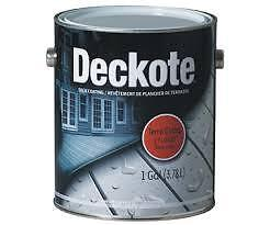 Deckote Elastomeric Deck Paint / Coating for Wood and Concrete
