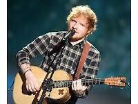 4 x Ed Sheeran Tickets - Cardiff 24th June