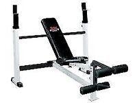 YORK FTS OLYMPIC COMBO BENCH WITH LEG DEVELOPER (Refurb 3 Month RTB Warranty) 48505R