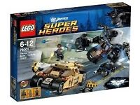 Lego super heros collection (batman & spiderman) - 6 sets with instructions