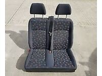 mercedes vito w639 front double seat fits 2004 to 2014 vito