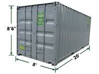 20 ft storage container to rent