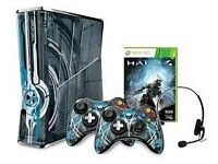 XBOX 360 HALO4 LIMITED EDITION WITH 20 GAMES!!!