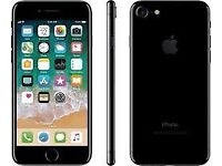 USED IPHONE 7 128GB - JET GLOSS BLACK - 9 months old- EXCELLENT LIKE NEW