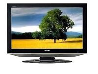 [EXCELLENT CONDITION] SHARP 32 INCH LCD TV. FREEVIEW / HDMI.