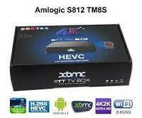ANDROID TV BOX XBMC / KODI GOOGLE TV BOX MXII, M8, MYGICA,  T8,