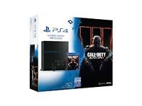 1000GB Matte Black PS4 + Game Boxed Can Deliver
