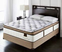 Brand New.. Sterns & Foster Dukeshire II queen mattress and boxs
