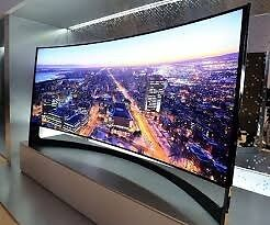 """75"""" Samsung Curved 4k . ,need quick sale.selling it for £1800, price is negotiable"""