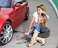 WINTER TIRE SALE-PUNCTURE-FLAT TIRE 24HOURS -TRAILERS-CAR-BOBCAT