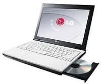 laptop LG C2D 2.0GHZ 2G 250G DVDRW WEBCAM win7 149$