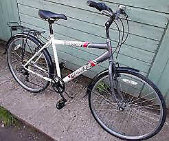 Bicycle hardly used ,men's city