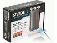 Numark Stereo IO Dj Audio Interface