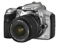 Digital Camera - Canon EOS 300D with 18-55mm zoom lens