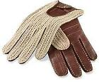Mens Leather Driving Gloves Large