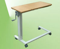 Adjustable Overbed Table with Crank - Great For Laptop!