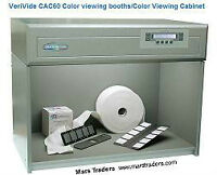 VGC VeriVide CAC 60 4-lite Color Assessment Cabinet Sys,warr