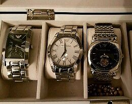 3 Armani watches for sale