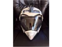 MOTORBIKE HELMET SIZE LARGE 59-60cms
