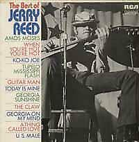 LP gebruikt - Jerry Reed - The Best Of Jerry Reed