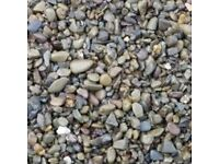 Grey mix garden and driveway chips
