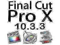 Final Cut Pro X 10.3.3 for Mac / Imac