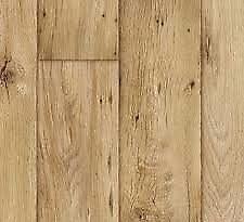vinyl flooring (lino) brand new wood effect INCLUDING FREE FITTING