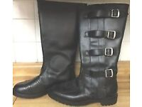 NEW Motorcycle Boots Itshide Commando Style Size 8 Mens/Womens