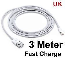 iPhone chargers 3m
