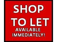Shop to rent/let union street/market street No Bill Alliclusive price