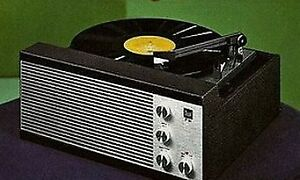 Portable record player and Vinyl