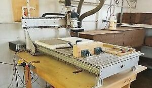 "Qty2 K2CNC 24"" x 50 "" - Includes controller / CNC table / crated"