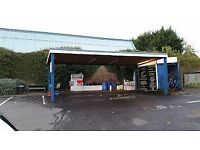 Sub lease for a busy car wash for sale in Great Barr