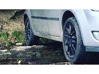 Ford Fiesta zetec s alloys