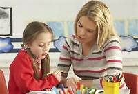 Tutoring available in your home/library for elementary students
