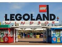Legoland Tickets x 2 - 28 June 2017 (CAN EMAIL)
