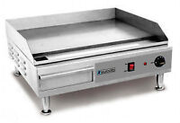"Eurodib 24"" electric flat top griddle"