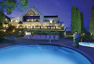 7 nights in The Lake Front Room at the Lake Okanagan Resort