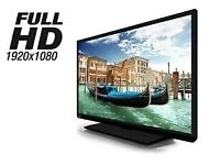 40 INCH TOSHIBA FULL HD LED TV WITH BUILT IN FREEVIEW **CAN BE DELIVERED**