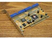 MRI 2 port IDE RAID (0,1) ATA133 PCI card