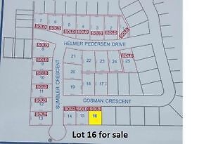 Lot 16 on Cosman Crescent for Sale - EAGER TO SELL